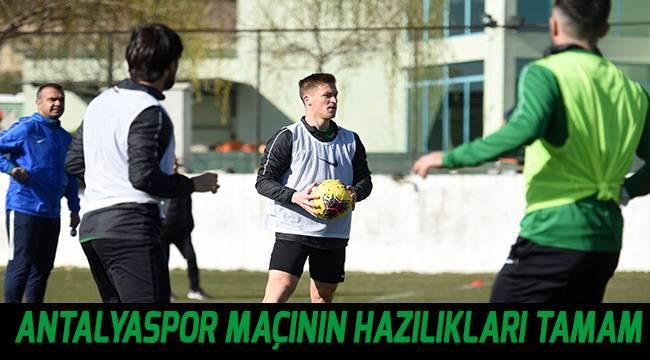 Denizlispor, Antalyaspor maçının hazırlıklarını tamamladı
