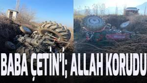 Denizlispor Başkanı Ali Çetin'in babası kaza geçirdi
