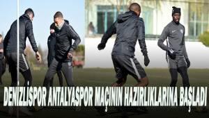 Denizlispor'da, Antalyaspor maçının hazırlıkları devam ediyor