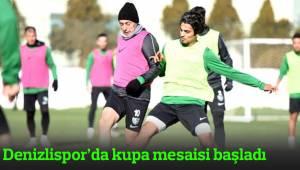 Denizlispor'da kupa mesaisi