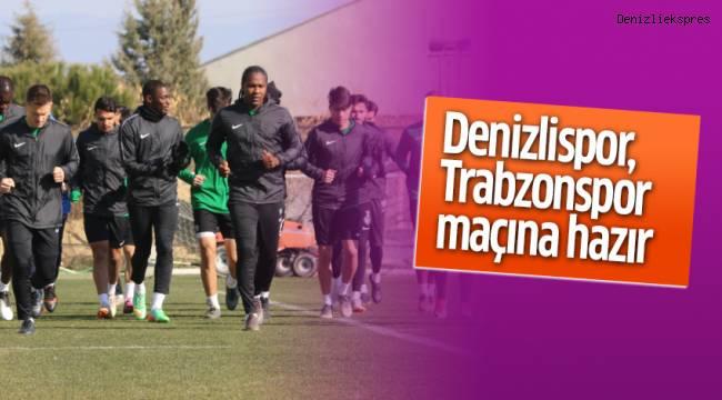 Denizlispor, Trabzonspor maçına hazır