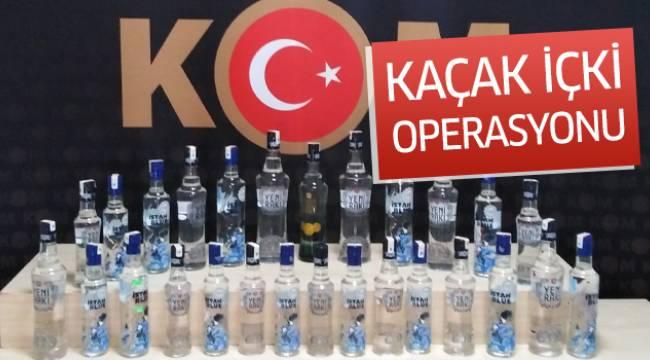 'Kaçak içki' operasyonu