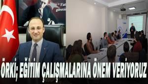 Pamukkale Belediyesi proje ekibine önemli eğitim