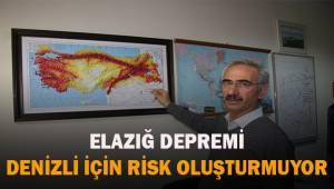 """Prof. Dr. Kumsar: """"Elazığ depremi Denizli için deprem riski oluşturmuyor"""