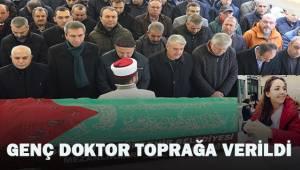 Yılbaşı faciasında ölen genç doktor toprağa verildi