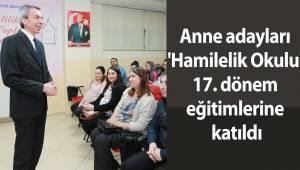 Anne adayları 'Hamilelik Okulu' 17. dönem eğitimlerine katıldı