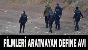 Define avcılarının kurdukları asansör sistemi baskın yapan polisleri bile şaşkına çevirdi
