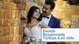 Denizli Boşanmada Türkiye 4.sü oldu