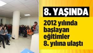 Denizli Büyükşehir Belediyesinin 'Evlilik Okulu' 8 yaşında