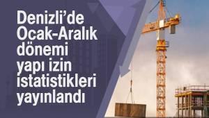 Denizli'de Ocak-Aralık dönemi yapı izin istatistikleri yayınlandı