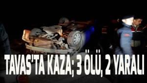 Denizli'de yolcu otobüsü ile otomobil çarpıştı: 3 ölü, 2 yaralı