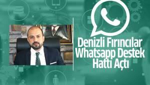 Denizli Fırıncılar Odası Whatsapp Destek Hattı Açıldı