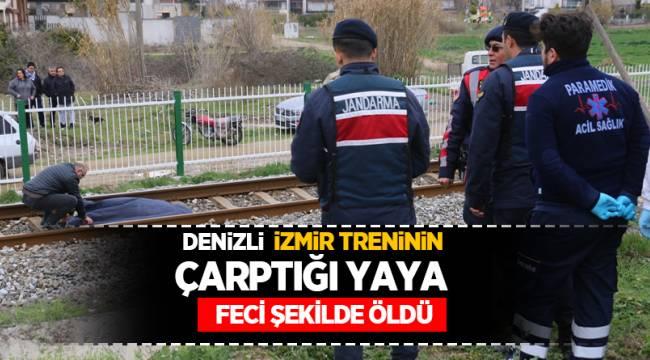 Denizli-İzmir Treninin Çarptığı yaya öldü