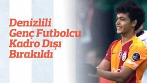 Denizlili Genç Futbolcu Kadro Dışı Bırakıldı