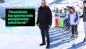 """""""Denizlimiz kış sporlarında da şampiyonlar çıkartacak"""""""