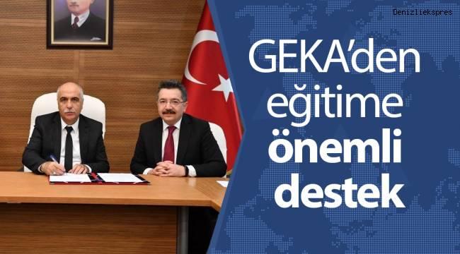 GEKA'den eğitime önemli destek