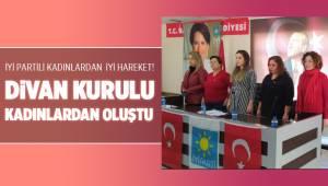 İYİ Partili kadınlardan İYİ hareket