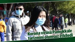 Korona virüsü Pamukkale turizmini olumsuz etkiledi