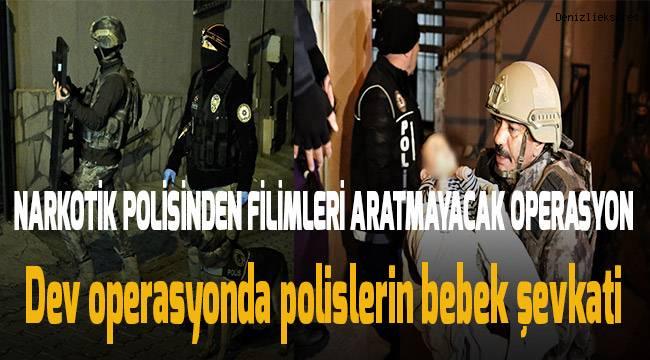 Narkotik polisinden şafak operasyonu: 23 gözaltı