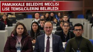 Pamukkale Gençlik Meclisi Lise Temsilcilerini Belirledi