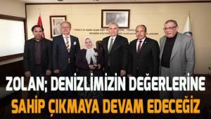 UNESCO Yaşayan İnsan Hazinesi Özke'den Başkan Zolan'a ziyaret