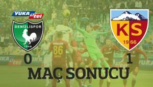Y. Denizlispor 0-1 HK. Kayserispor