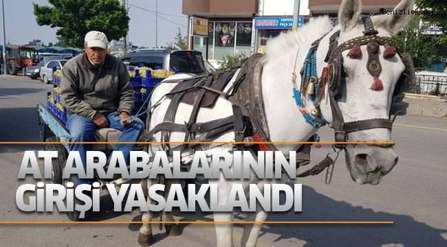 12 mahalleye at arabalarının girişi yasaklandı