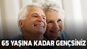 65 yaşa kadar gruplandırılan insanlar genç sınıfında sayılacak