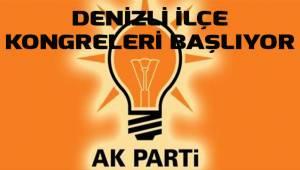 AK Parti ilçe kongreleri başlıyor