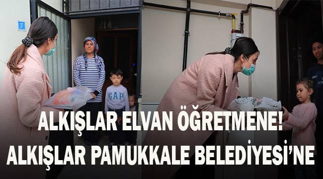 Alkışlar Elvan Öğretmen'e! Alkışlar Pamukkale Belediyesi'ne!