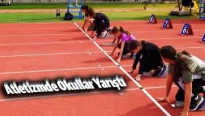 Atletizmde Okullar Yarıştı