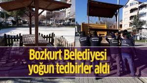 Bozkurt Belediyesi yoğun tedbirler aldı
