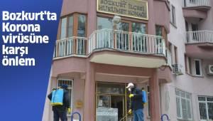 Bozkurt'ta Koronavirüsüne karşı önlem