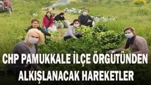 CHP Pamukkale İlçe Örgütünden alkışlanacak hareketler