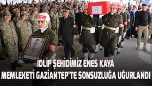 Denizli'den gidip, İdlip'te şehit olan askerimiz memleketinde sonsuzluğa uğurlandı