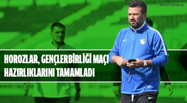 Denizlispor, Gençlerbirliği maçı hazırlıklarını tamamladı