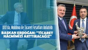 DTO'da, Moldova ile Ticaret Fırsatları Anlatıldı