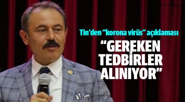 """""""GEREKEN TEDBİRLER ALINIYOR"""""""