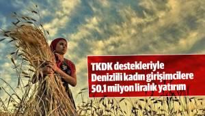 TKDK destekleriyle Denizlili kadın girişimcilerden 50,1 milyon liralık yatırım
