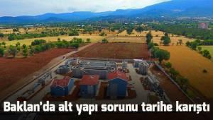 Büyükşehir DESKİ'den Baklan'a modern altyapı