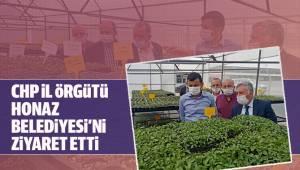 CHP İl Örgütü Honaz Belediyesini Ziyaret Etti