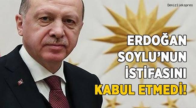 """İletişim Başkanlığı: """"İçişleri Bakanı Soylu'nun istifası kabul edilmedi"""""""