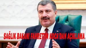 """Sağlık Bakanı Koca: """"Son 24 saatte korona virüs nedeniyle 107 kişi hayatını kaybetti"""""""