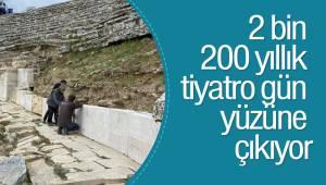 2 bin 200 yıllık tiyatro gün yüzüne çıkıyor