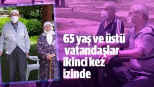 65 yaş ve üstü vatandaşlar ikinci kez izinde