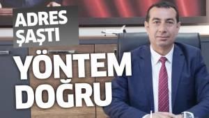 """BAŞKAN SARI: """"YÖNTEM DOĞRU, ADRES YANLIŞ"""""""