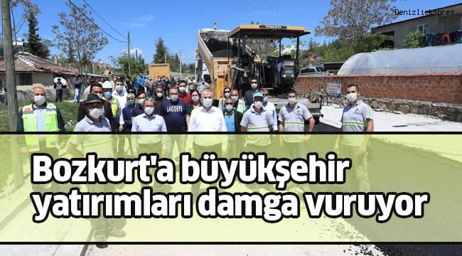 Bozkurt'a büyükşehir yatırımları damga vuruyor