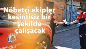 Denizli Büyükşehir Belediyesi bayram tedbirlerini aldı
