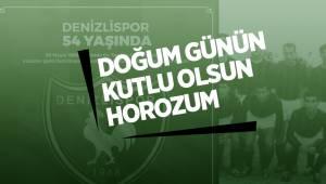 DOĞUM GÜNÜN KUTLU OLSUN DENİZLİSPOR'UM