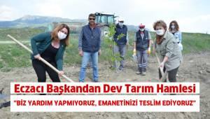 Eczacı Başkandan Çiftçiler Gününde Dev Tarım Hamlesi